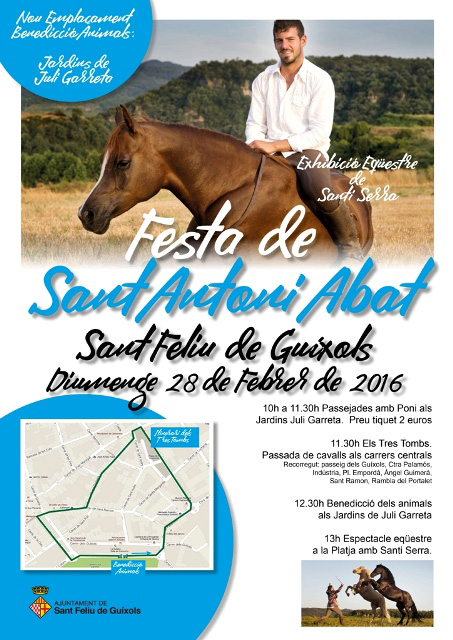 Festa de Sant Antoni Abat a Sant Feliu de Guixols