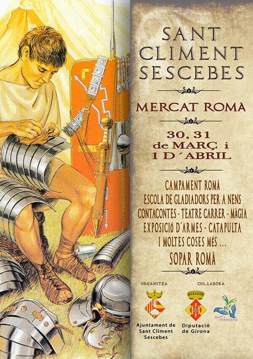Mercat Romà de Sant Climent Sescebes, Alt Empordà