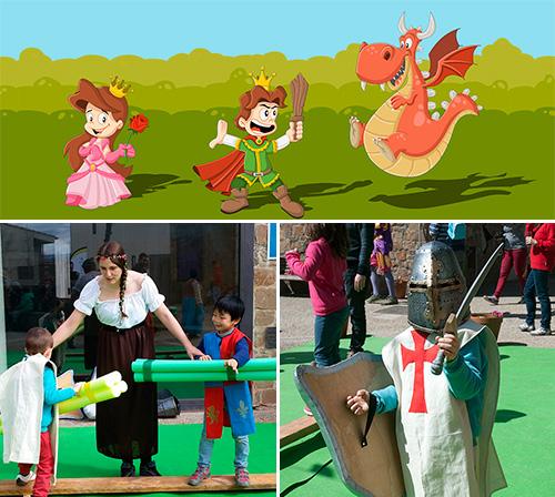 Sant Jordi Medieval en família als Vilars Rurals