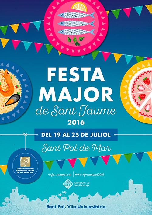 Festa Major de Sant Jaume a Sant Pol de Mar