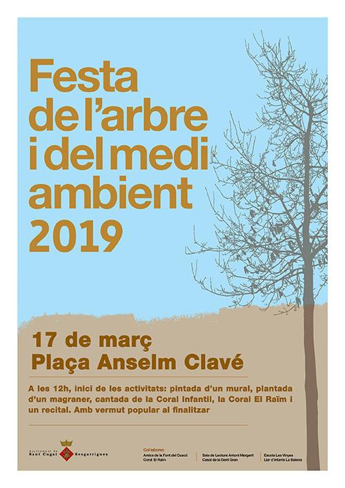 Festa de l'Arbre i del Medi Ambient a Sant Cugat Sesgarrigues, l'Alt Penedès