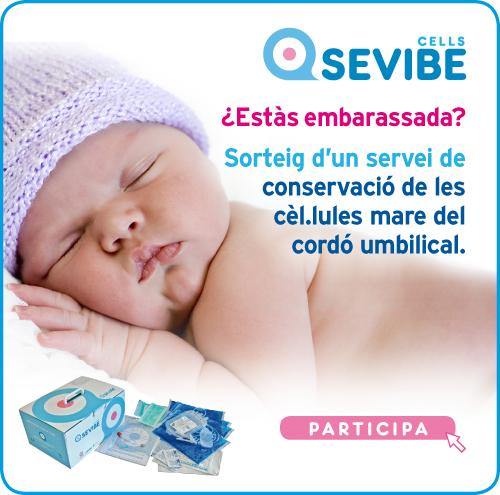 Conserva gratis el cordó umbilical del teu bebè