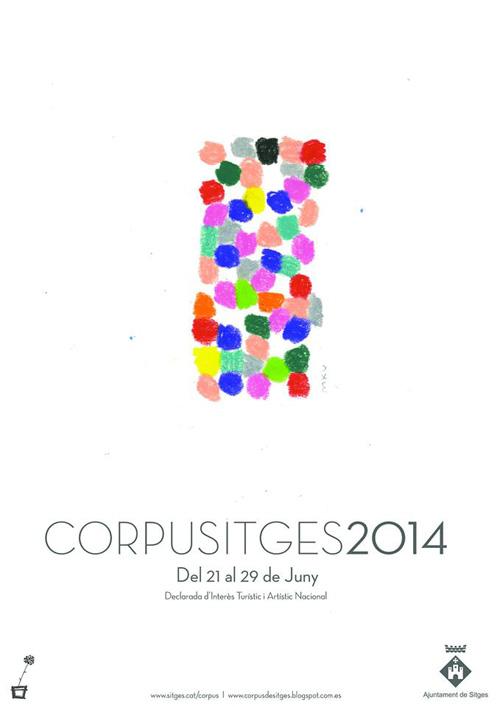 Corpus a Sitges: Mostra de catifes florals