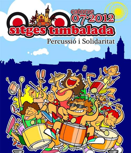 Timbalada Solidària a Sitges