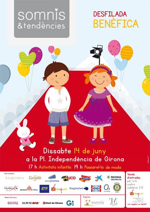 Somnis i Tendències': Desfilada benèfica i tallers a Girona