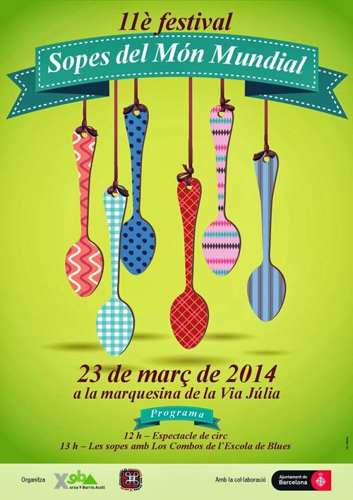 11è Festival de Sopes del Món Mundial de Nou Barris