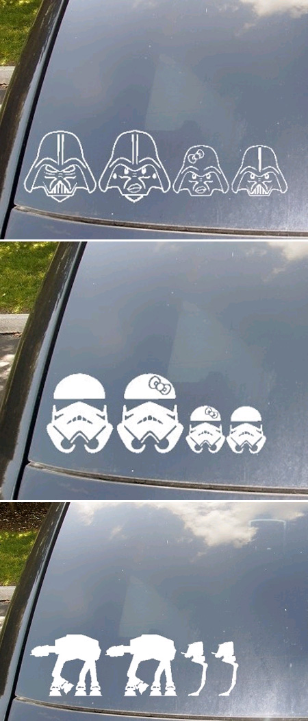 La família de Star Wars