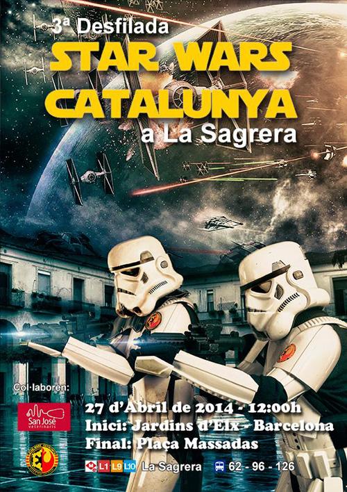 3a Desfilada Star Wars a La Sagrera, Barcelona