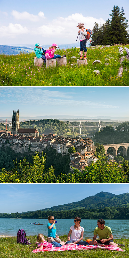 Suïssa per a famílies a Friburg
