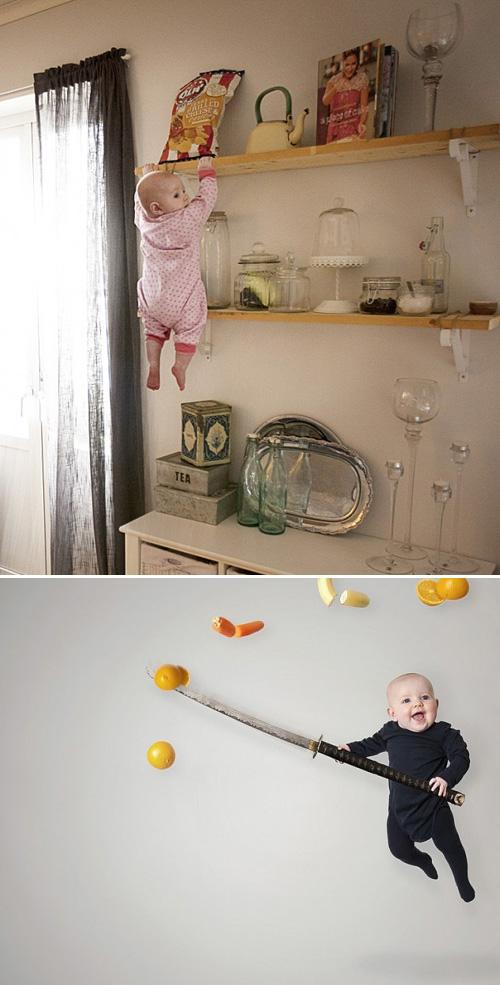 Bebès amb superpoders
