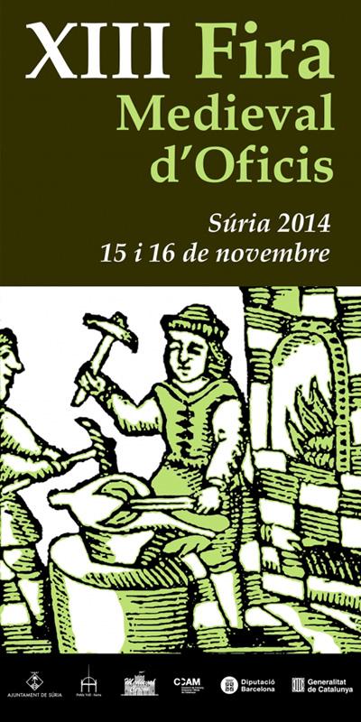 XIII Fira Medieval d'Oficis a Súria
