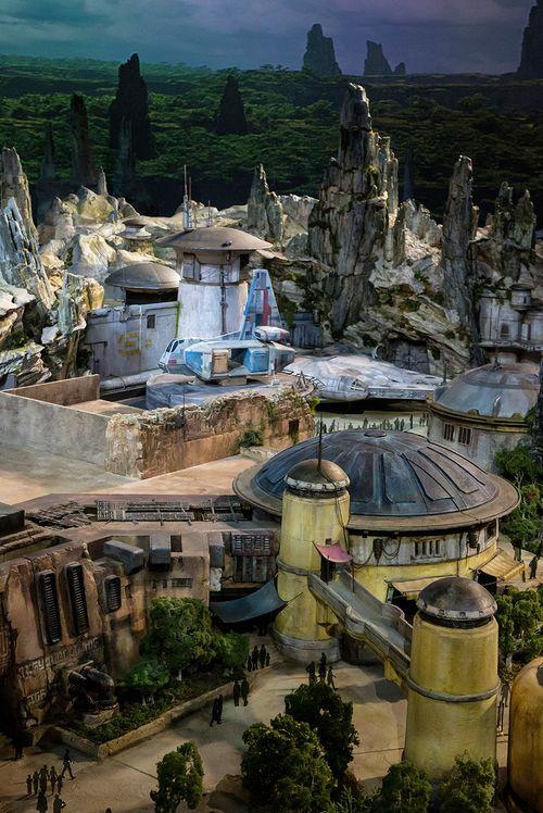 Fotos del nou parc temàtic de Disney: Star Wars Land