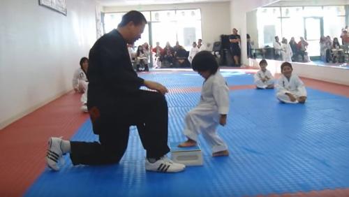 Classe de taekwondo