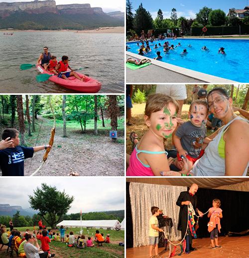 Últimes places de 'Vacances en família' a les Tallades!