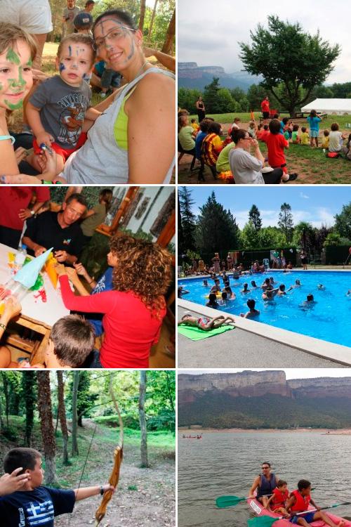 Vacances d'estiu en família: estades setmanals d'agost!