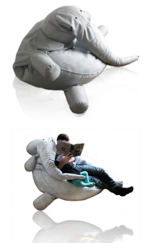 Tanto, un elefant a casa teva