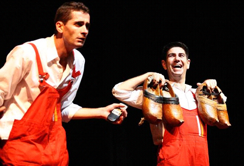 Promoció 'Tap Story Tour' al Teatre Tantarantana