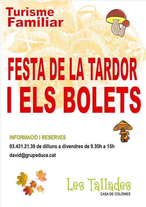 Festa de la Tardor i els Bolets