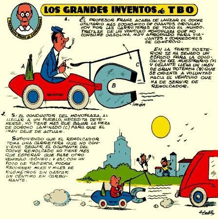 Exposició 'Grans invents de TBO'