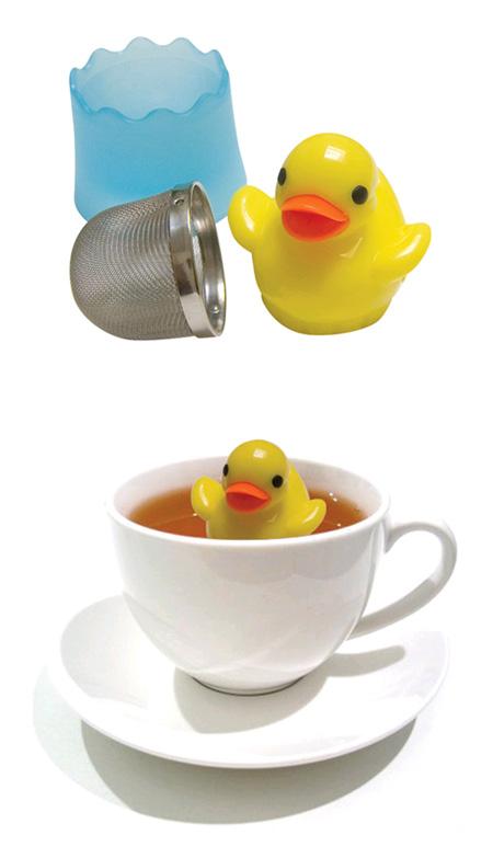 Ànec pel te
