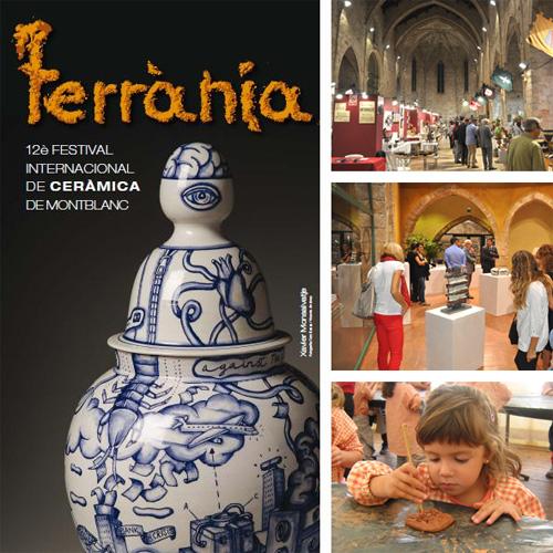 XII Festival Internacional de ceràmica de Montblanc 'Terrània'