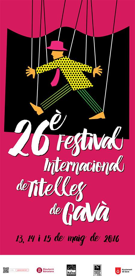 26e Festival Internacional de Titelles de Gavà