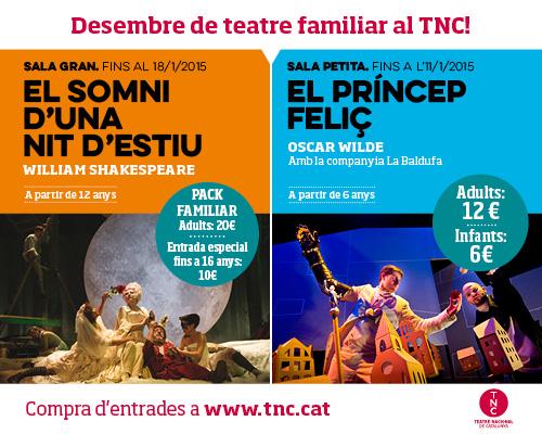 Nadal de teatre familiar al TNC!
