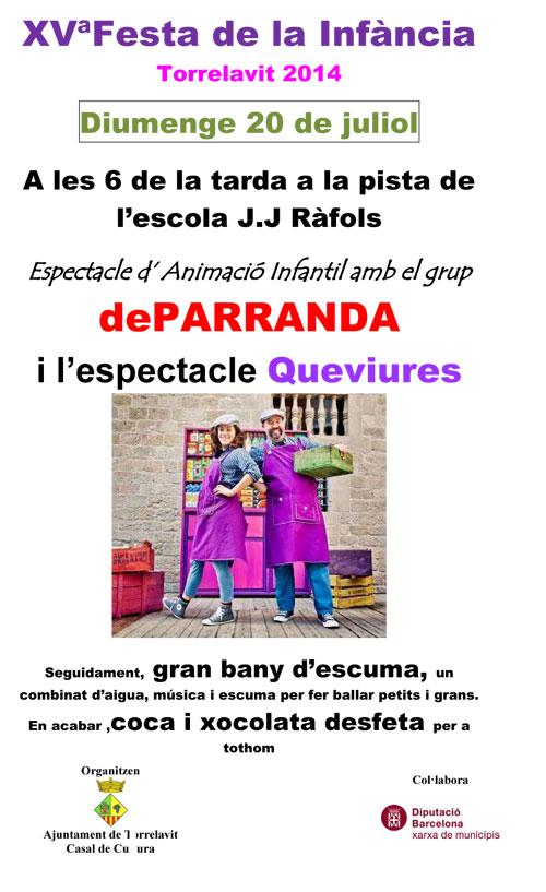 Festa de la Infància a Torrelavit