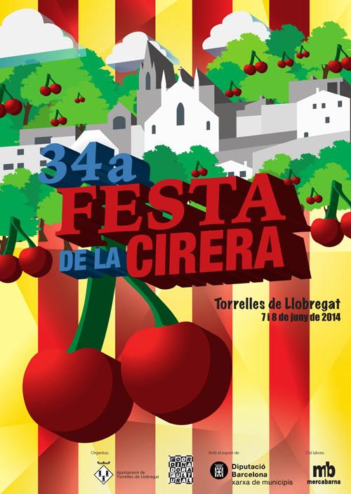 34a Festa de la Cirera a Torrelles de Llobregat
