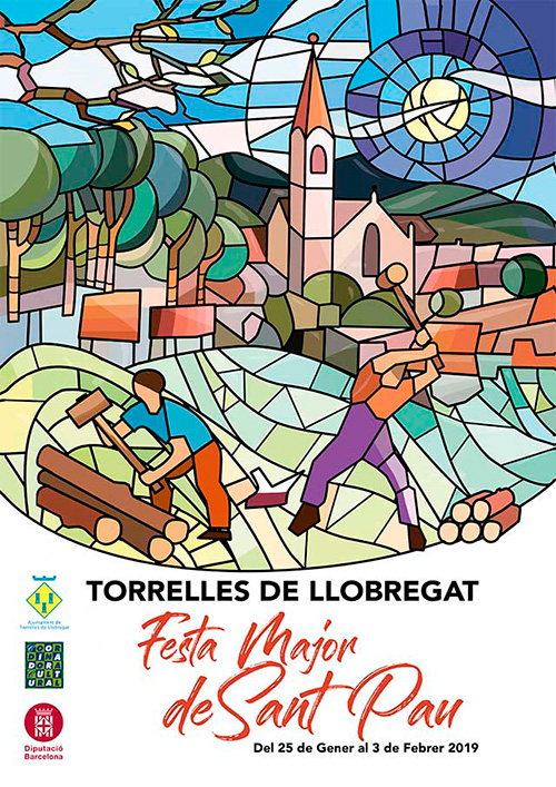 Festa Major de Sant Pau de Torrelles de Llobregat, el Baix Llobregat