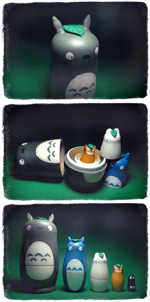 Totoro + Matrioshka?