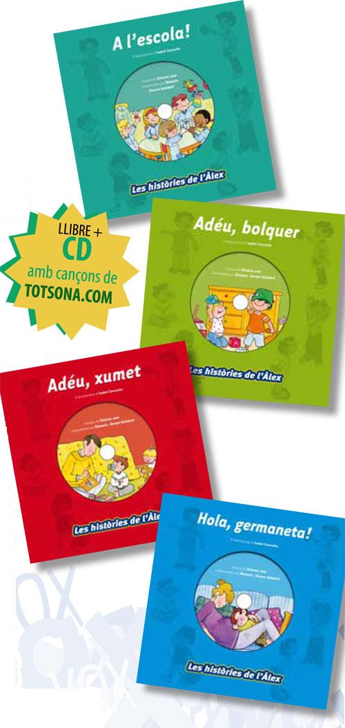 Les històries de l'Àlex amb CD de Totsona