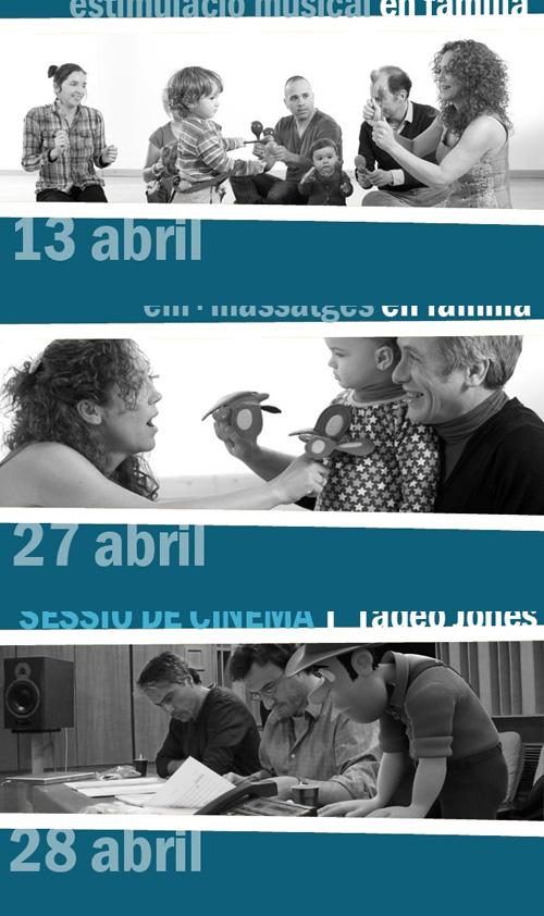 Activitats Totsona per al mes d'abril
