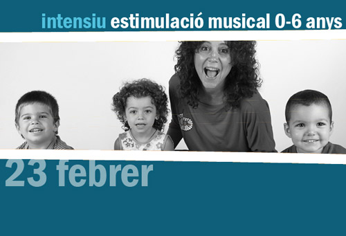 Taller d'estimulació musical de 0 a 6 anys