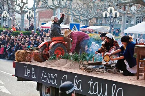 Festa dels Tres Tombs de Sant Antoni i Mercat Tradicional a Tàrrega