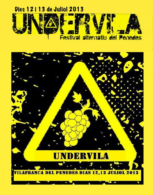 Festival Undervila 2013 a Vilafranca del Penedès