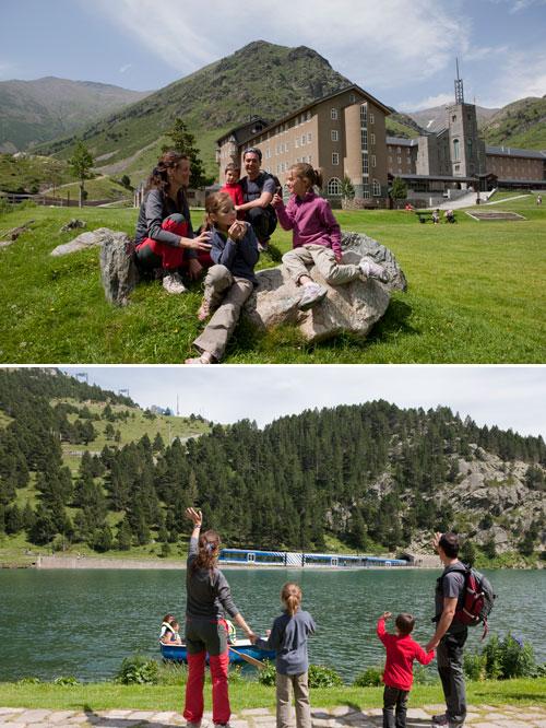Activitats d'estiu a la Vall de Núria