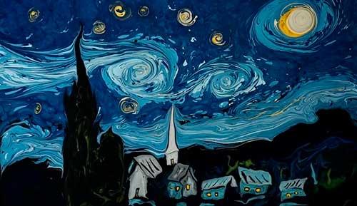 Pintant Van Gogh