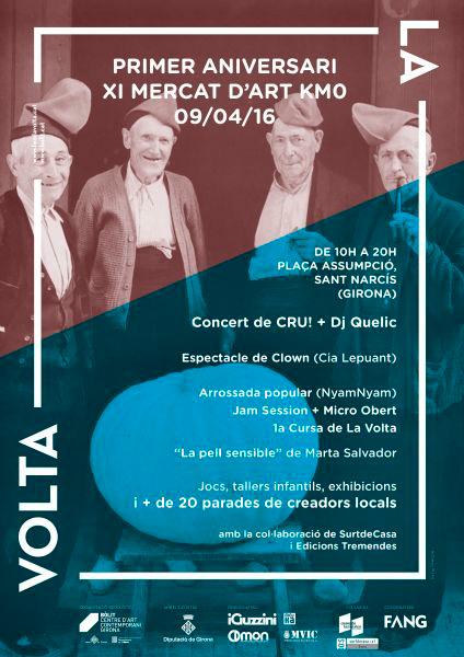 11è Mercat d'Art KM0 La Volta a Girona