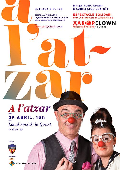 Xaropclown, presenta el seu espectacle 'A l'atzar' a Quart, el Gironès
