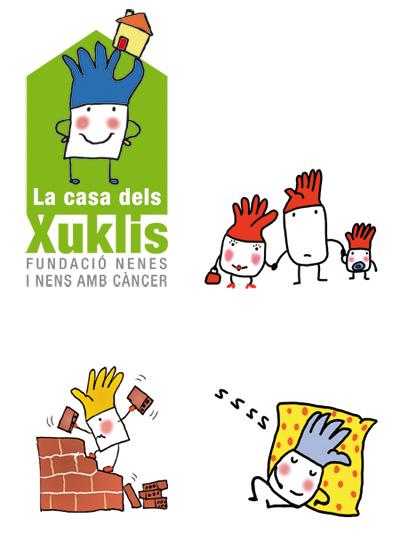 Xuklis, una casa d'acollida per a familiars amb nenes malalts