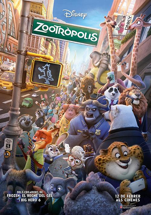 Zootròpolis', als cinemes i en català!